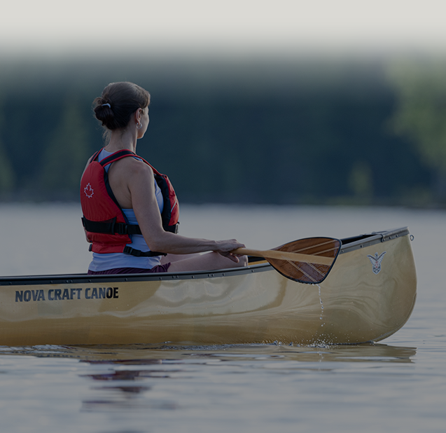 lightweight two person canoe